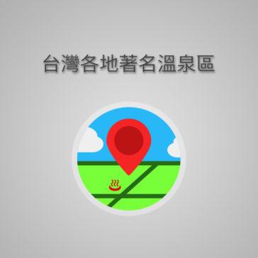 台灣著名溫泉