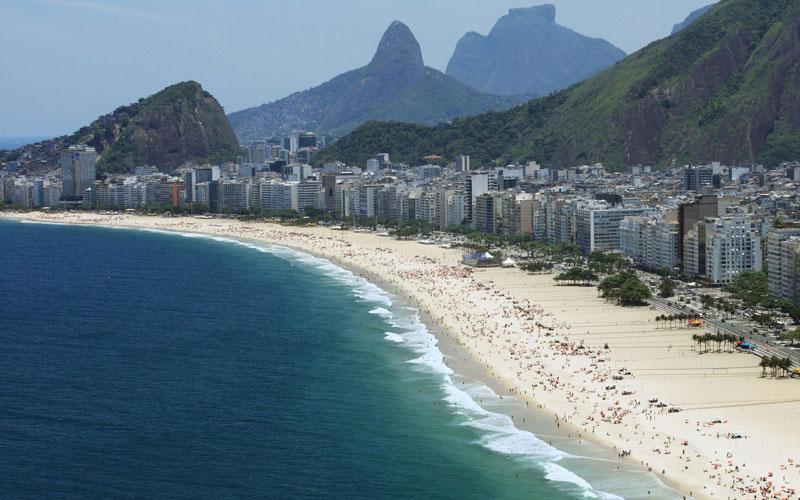 科帕卡瓦納海灘(Copacabana)