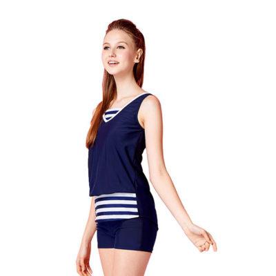 二件式平口褲泳衣 1600306