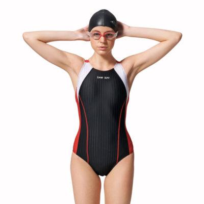 競賽型泳衣-中叉 A97246