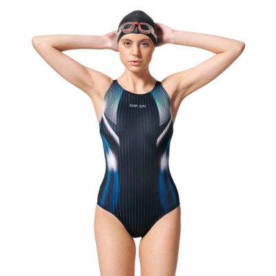 競賽型泳衣-中叉 A97443-05