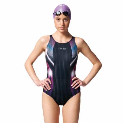 競賽型泳衣-中叉 A97443-07
