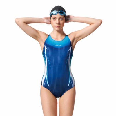 競賽型泳衣-中叉 A97445-02