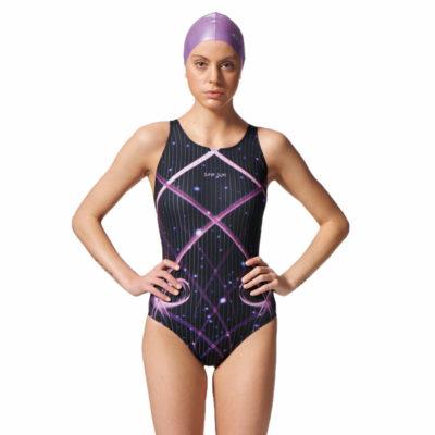 競賽型泳衣-中叉 A97503