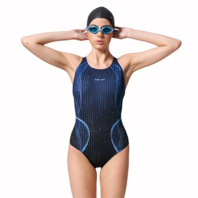 競賽型泳衣-中叉 A97506